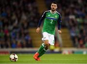 8 October 2016; Conor McLaughlin of Northern Ireland during the FIFA World Cup Group C Qualifier match between Northern Ireland and San Marino at Windsor Park in Belfast. Photo by David Fitzgerald/Sportsfile