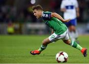 8 October 2016; Jamie Ward of Northern Ireland during the FIFA World Cup Group C Qualifier match between Northern Ireland and San Marino at Windsor Park in Belfast. Photo by David Fitzgerald/Sportsfile