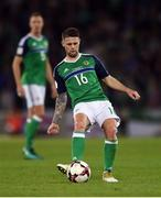 8 October 2016; Oliver Norwood of Northern Ireland during the FIFA World Cup Group C Qualifier match between Northern Ireland and San Marino at Windsor Park in Belfast. Photo by David Fitzgerald/Sportsfile