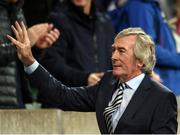 8 October 2016; Former Northern Ireland goalkeeper Pat Jennings ahead of the FIFA World Cup Group C Qualifier match between Northern Ireland and San Marino at Windsor Park in Belfast. Photo by David Fitzgerald/Sportsfile