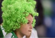 8 October 2016; Northern Ireland fan Joseph Rea, aged 6, ahead of the FIFA World Cup Group C Qualifier match between Northern Ireland and San Marino at Windsor Park in Belfast. Photo by David Fitzgerald/Sportsfile