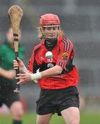 20 February 2011; Grainne Kenneally, University College Cork. Ashbourne Cup Final, University College Cork v Waterford IT, Pearse Stadium, Salthill, Galway. Picture credit: David Maher / SPORTSFILE