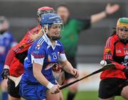20 February 2011; Katrina Parrock, Waterford IT. Ashbourne Cup Final, University College Cork v Waterford IT, Pearse Stadium, Salthill, Galway. Picture credit: David Maher / SPORTSFILE