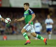 8 October 2016; Jamie Ward of Northern Ireland during the FIFA World Cup Group C Qualifier match between Northern Ireland and San Marino at Windsor Park in Belfast. Photo by Oliver McVeigh/Sportsfile