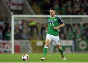 8 October 2016; Oliver Norwood of Northern Ireland during the FIFA World Cup Group C Qualifier match between Northern Ireland and San Marino at Windsor Park in Belfast. Photo by Oliver McVeigh/Sportsfile
