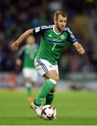 8 October 2016; Nial McGinn of Northern Ireland during the FIFA World Cup Group C Qualifier match between Northern Ireland and San Marino at Windsor Park in Belfast. Photo by Oliver McVeigh/Sportsfile