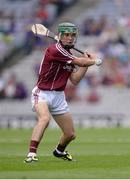 14 August 2016; Evan Niland of Galway during the Electric Ireland GAA Hurling All-Ireland Minor Championship Semi-Final game between Galway and Tipperary at Croke Park, Dublin. Photo by Piaras Ó Mídheach/Sportsfile