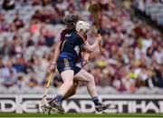 14 August 2016; Ciarán Barrett of Tipperary in action against Jack Canning of Galway during the Electric Ireland GAA Hurling All-Ireland Minor Championship Semi-Final game between Galway and Tipperary at Croke Park, Dublin. Photo by Piaras Ó Mídheach/Sportsfile