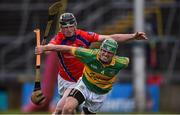 16 October 2016; Michael Cummins of Gort in action against Brendan Farrell of St. Thomas during the Galway County Senior Club Hurling Championship Final game between Gort and St. Thomas' at Pearse Stadium in Galway. Photo by David Maher/Sportsfile