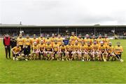 16 October 2016; The Clonlara squad before the Clare County Senior Club Hurling Championship Final between Clonlara and Ballyea at Cusack Park in Ennis, Co. Clare. Photo by Diarmuid Greene/Sportsfile