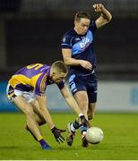 19 October 2016; Paul Mannion of Kilmacud Crokes in action against Declan Donnelly of St Jude's during the Dublin County Senior Club Football Championship Quarter-Final match between St Jude's and Kilmacud Crokes at Parnell Park in Dublin. Photo by Piaras Ó Mídheach/Sportsfile