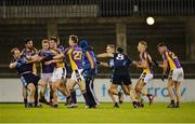 19 October 2016; Players from St Jude's and Kilmacud Crokes tussle during the Dublin County Senior Club Football Championship Quarter-Final match between St Jude's and Kilmacud Crokes at Parnell Park in Dublin. Photo by Piaras Ó Mídheach/Sportsfile