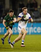 20 October 2016; Nathan Mullins of St Vincent's in action against Ciaran McHugh of Lucan Sarsfields during the Dublin County Senior Club Football Championship Quarter-Final match between St Vincent's and Lucan Sarsfields at Parnell Park in Dublin. Photo by Sam Barnes/Sportsfile