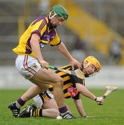 6 March 2011; James 'Cha' Fitzpatrick, Kilkenny, in action against Harry Kehoe, Wexford. Allianz Hurling League Division 1 Round 3, Kilkenny v Wexford, Nowlan Park, Kilkenny. Picture credit: Stephen McCarthy / SPORTSFILE