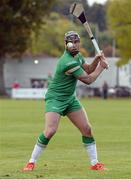 22 October 2016; Shane Dooley of Ireland takes a free during the 2016 Senior Hurling/Shinty International Series match between Ireland and Scotland at Bught Park in Inverness, Scotland. Photo by Piaras Ó Mídheach/Sportsfile