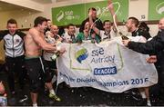 23 October 2016; Dundalk players celebrates after the SSE Airtricity League Premier Division game between Dundalk and Bohemians at Oriel Park in Dundalk.  Photo by David Maher/Sportsfile