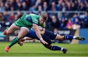 29 October 2016; Peter Robb of Connacht is tackled by Noel Reid of Leinster during the Guinness PRO12 Round 7 match between Leinster and Connacht at the RDS Arena, Ballsbridge, in Dublin. Photo by Seb Daly/Sportsfile