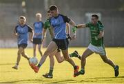 30 October 2016; Conor Nash of Simonstown Gaels in action against Dylan Brady, left, and Thomas McGovern of Donaghmore/Ashbourne during the Meath County Senior Club Football Championship Final game between Donaghmore/Ashbourne and Simonstown at Pairc Táilteann in Navan, Co. Meath. Photo by Seb Daly/Sportsfile
