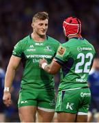 29 October 2016; Peter Robb of Connacht in conversation with Bundee Aki during the Guinness PRO12 Round 7 match between Leinster and Connacht at the RDS Arena, Ballsbridge, in Dublin. Photo by Ramsey Cardy/Sportsfile