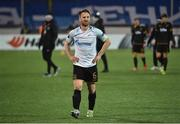 3 November 2016; A dejected Stephen O'Donnell of Dundalk after the UEFA Europa League Group D Matchday 4 match between Zenit St Petersburg v Dundalk at Stadion Pertrovskiy in St Petersburg, Russia. Photo by David Maher/Sportsfile