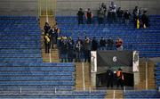 3 November 2016; Dundalk supporters during the UEFA Europa League Group D Matchday 4 match between Zenit St Petersburg v Dundalk at Stadion Pertrovskiy in St Petersburg, Russia. Photo by David Maher/Sportsfile