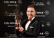 4 November 2016; Kilkenny hurler Richie Hogan with his award at the 2016 GAA/GPA Opel All-Stars Awards at the Convention Centre in Dublin. Photo by Seb Daly/Sportsfile
