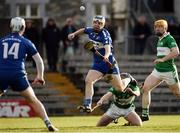 6 November 2016; Cormac Boyle of Raharney is fouled by Garry Bennett of St Mullins during the AIB Leinster GAA Hurling Senior Club Championship quarter-final game between Raharney and St Mullins at TEG Cusack Park in Mullingar, Co. Westmeath. Photo by Sam Barnes/Sportsfile