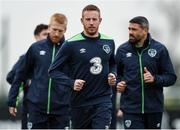 8 November 2016; Adam Rooney of Republic of Ireland during squad training at the FAI National Training Centre in the National Sports Campus, Abbotstown, Dublin. Photo by David Maher/Sportsfile