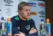 8 November 2016; Daryl Horgan of Republic of Ireland during a press conference at the FAI National Training Centre in the National Sports Campus, Abbotstown, Dublin. Photo by David Maher/Sportsfile