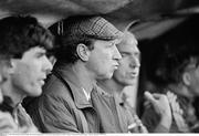 23 April 1986; Republic of Ireland manager Jack Charlton during the game. International Friendly Republic of Ireland v Uruguay, Lansdowne Road, Dublin. Picture credit: Ray McManus / SPORTSFILE