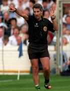 21 June 1998; Referee Michael Curley during the Bank of Ireland Leinster Senior Football Championship Quarter-Final Replay match between Kildare and Dublin at Croke Park in Dublin. Photo by David Maher/Sportsfile