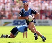 21 June 1998; Paul Curran of Dublin during the Bank of Ireland Leinster Senior Football Championship Quarter-Final Replay match between Kildare and Dublin at Croke Park in Dublin. Photo by David Maher/Sportsfile