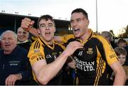 20 November 2016; Tony Kelly, left, and Damien Burke of Ballyea celebrate after the AIB Munster GAA Hurling Senior Club Championship Final match between Ballyea and Glen Rovers at Semple Stadium in Thurles, Co. Tipperary. Photo by Piaras Ó Mídheach/Sportsfile