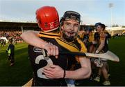 20 November 2016; Tony Kelly, right, and Joe Neylon of Ballyea celebrate after the AIB Munster GAA Hurling Senior Club Championship Final match between Ballyea and Glen Rovers at Semple Stadium in Thurles, Co. Tipperary. Photo by Piaras Ó Mídheach/Sportsfile