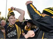 20 November 2016; Tony Kelly of Ballyea celebrates after the AIB Munster GAA Hurling Senior Club Championship Final match between Ballyea and Glen Rovers at Semple Stadium in Thurles, Co. Tipperary. Photo by Piaras Ó Mídheach/Sportsfile