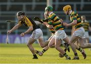 20 November 2016; Tony Kelly of Ballyea in action against Glen Rovers players, from left, Patrick Horgan, David Dooling, David Noonan during the AIB Munster GAA Hurling Senior Club Championship Final match between Ballyea and Glen Rovers at Semple Stadium in Thurles, Co. Tipperary. Photo by Piaras Ó Mídheach/Sportsfile