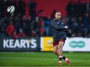 3 November 2017; Simon Zebo of Munster ahead of the Guinness PRO14 Round 8 match between Munster and Dragons at Irish Independent Park in Cork. Photo by Eóin Noonan/Sportsfile