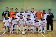 9 April 2011; The EID Futsal squad. FAI Futsal Cup Final, EID Futsal v Blue Magic,  Gormanston College, Gormanston, Co. Meath. Picture credit: Matt Browne / SPORTSFILE
