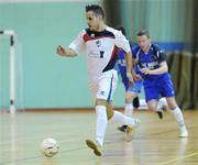 9 April 2011; Badr Bouznig, EID Futsal. FAI Futsal Cup Final, EID Futsal v Blue Magic,  Gormanston College, Gormanston, Co. Meath. Picture credit: Matt Browne / SPORTSFILE