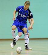 9 April 2011; Lloyd Massey, Blue Magic. FAI Futsal Cup Final, EID Futsal v Blue Magic, Gormanston College, Gormanston, Co. Meath. Picture credit: Matt Browne / SPORTSFILE