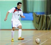 9 April 2011; Rafael Soto, EID Futsal. FAI Futsal Cup Final, EID Futsal v Blue Magic, Gormanston College, Gormanston, Co. Meath. Picture credit: Matt Browne / SPORTSFILE