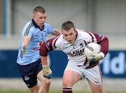 16 April 2011; Darren Brady, Westmeath, in action against Scott Fulham, Dublin. Leinster GAA Football Minor Championship, First Round, Dublin v Westmeath, Parnell Park, Dublin. Picture credit: Barry Cregg / SPORTSFILE