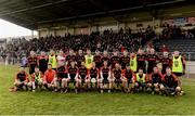 27 November 2016; The Kenmare squad before the AIB Munster GAA Football Intermediate Club Championship Final between Kenmare and Adare at Mallow GAA Complex in Mallow, Co Cork. Photo by Diarmuid Greene/Sportsfile