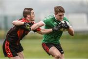 27 November 2016; Jack English of Adare in action against Stephen O'Brien of Kenmare during the AIB Munster GAA Football Intermediate Club Championship Final between Kenmare and Adare at Mallow GAA Complex in Mallow, Co Cork. Photo by Diarmuid Greene/Sportsfile