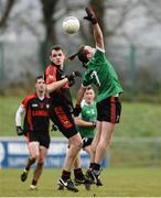 27 November 2016; Diarmuid Sexton of Adare in action against David Hallissey of Kenmare during the AIB Munster GAA Football Intermediate Club Championship Final between Kenmare and Adare at Mallow GAA Complex in Mallow, Co Cork. Photo by Diarmuid Greene/Sportsfile