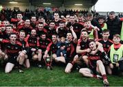 27 November 2016; The Kenmare squad celebrate with the cup after the AIB Munster GAA Football Intermediate Club Championship Final between Kenmare and Adare at Mallow GAA Complex in Mallow, Co Cork. Photo by Diarmuid Greene/Sportsfile