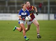 3 December 2016; Faye Ahern of Kinsale in action against Jessica Kelly of St. Maurs during the All Ireland Junior Club Championship Final 2016 match between Kinsale and St. Maurs at Dr Cullen Park in Carlow. Photo by Matt Browne/Sportsfile