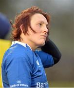 3 December 2016; Lindsay Peat of Leinster dejected after the game in the Women's Interprovincial Rugby Championship Round 1 game between Connacht and Leinster at Tuam RFC in Tuam, Co. Galway. Photo by Ray Ryan/Sportsfile