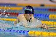 4 December 2016; Dearbhail McNamara of Castlebar SC competing in Womens 200M breaststroke the Irish Short Course swimming Championships at Lagan Valley Leisureplex, Lisburn, Co Antrim. Photo by Oliver McVeigh/Sportsfile