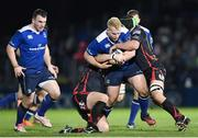 3 December 2016; Jeremy Loughman of Leinster during the Guinness PRO12 Round 10 match between Leinster and Newport Gwent Dragons at the RDS Arena in Ballsbridge, Dublin. Photo by Stephen McCarthy/Sportsfile